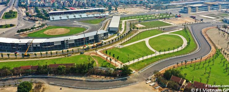 Gran Premio de Vietnam es cancelado oficialmente, es la octava carrera que es suspendida de manera definitiva